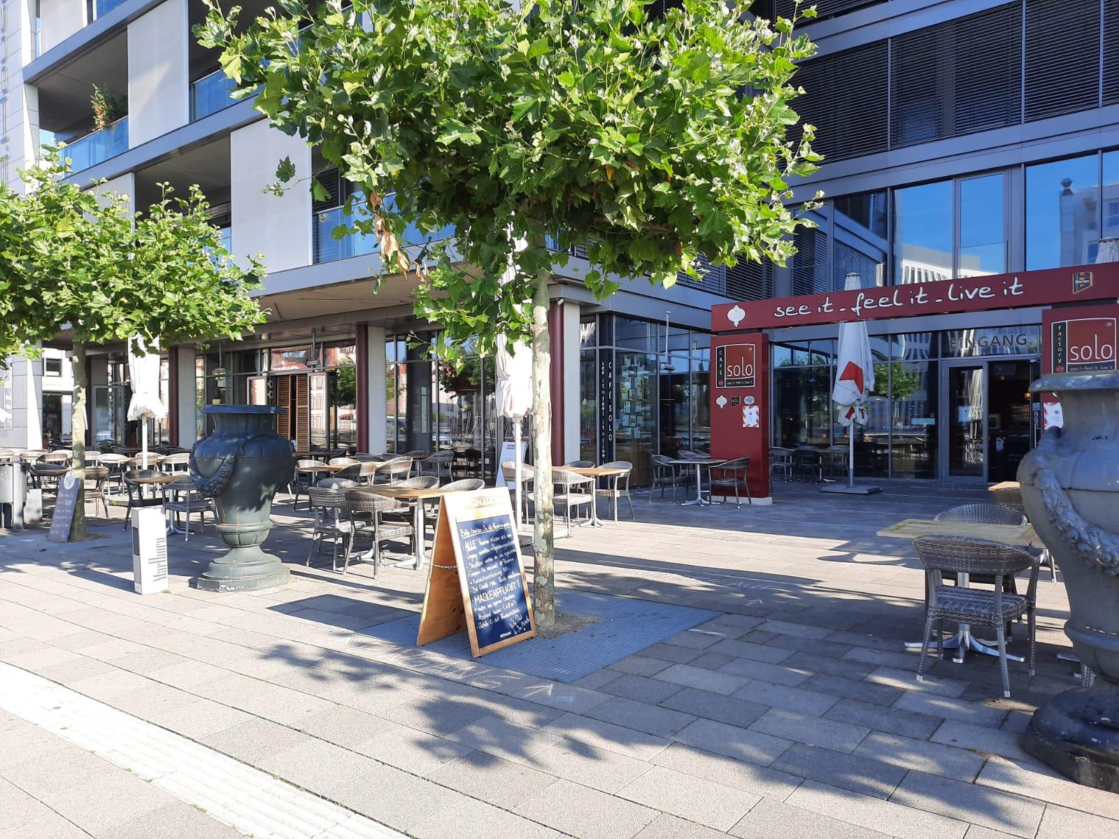 Cafe Solo Dortmund Außenbereich